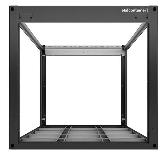 ELA Container - Steel frame with load-bearing construction