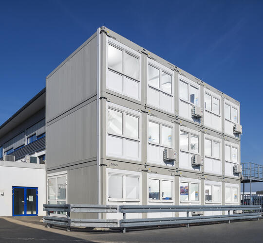 ELA Container - Office container system Cargobull Parts & Services GmbH
