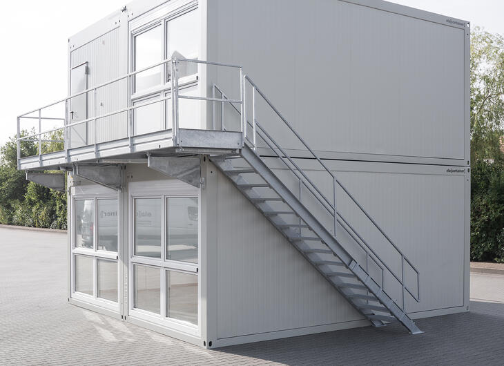 ELA Container - External stairs and landing
