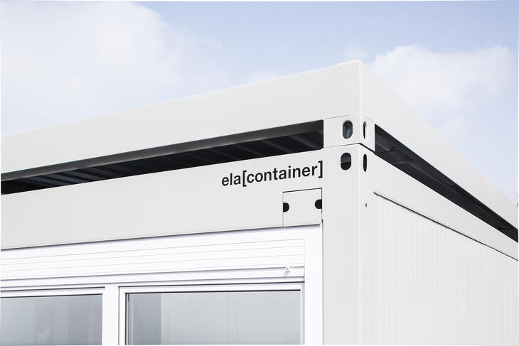 ELA Container - Solar circulation roof